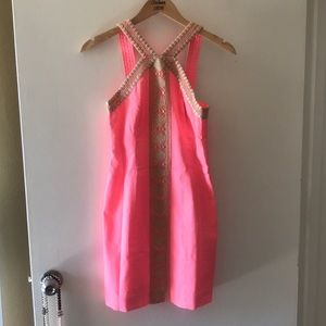 Lily Pulitzer Coral Shift Dress